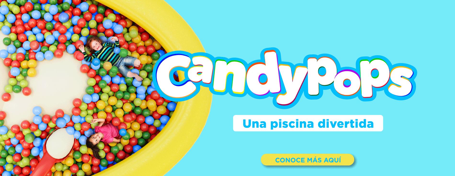 CandyPops una piscina divertida - La ceja