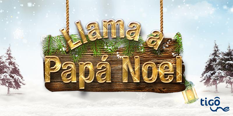 Llama a papa noel 1
