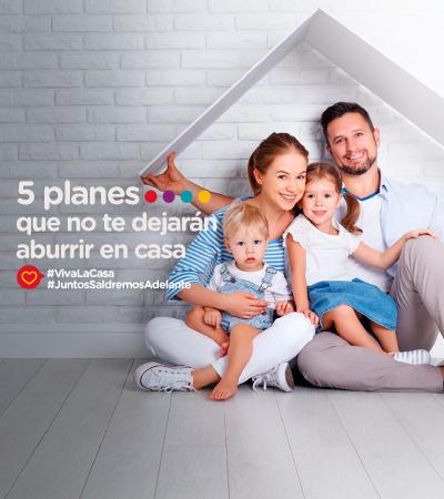 5 planes que no te dejarán aburrir en casa - La Ceja