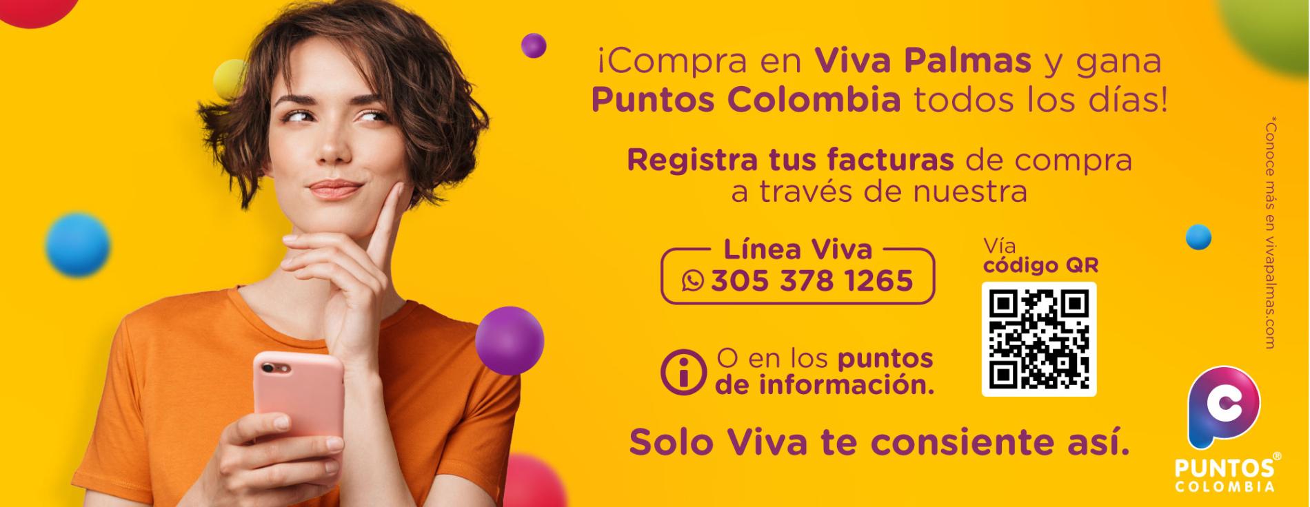 Puntos Colombia - Palmas