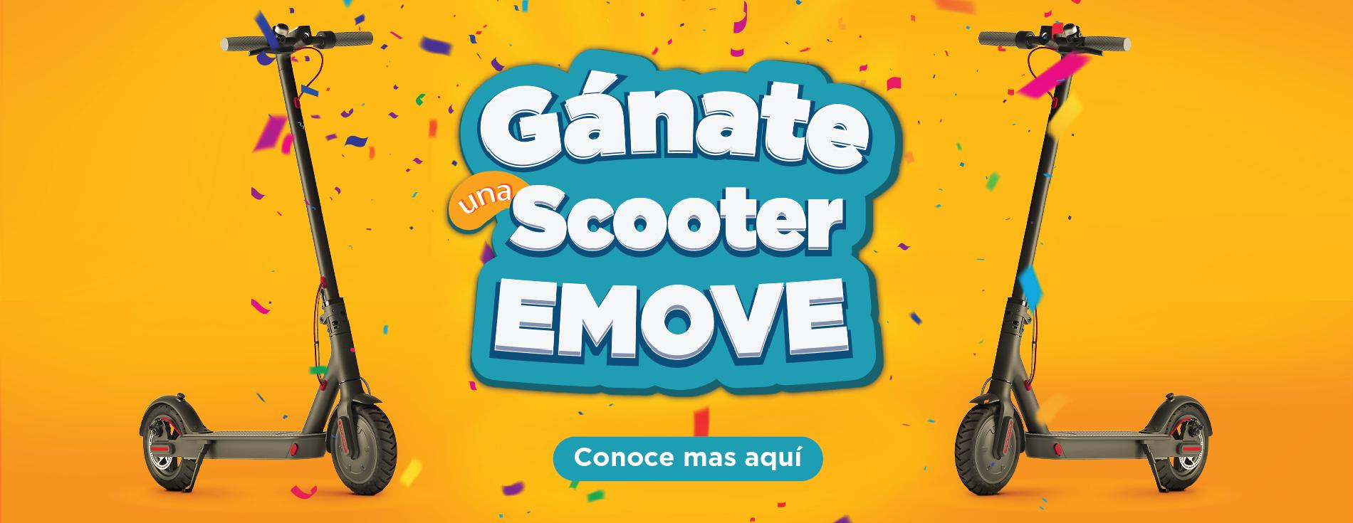Gánate una Scooter EMOVE - Fontibón