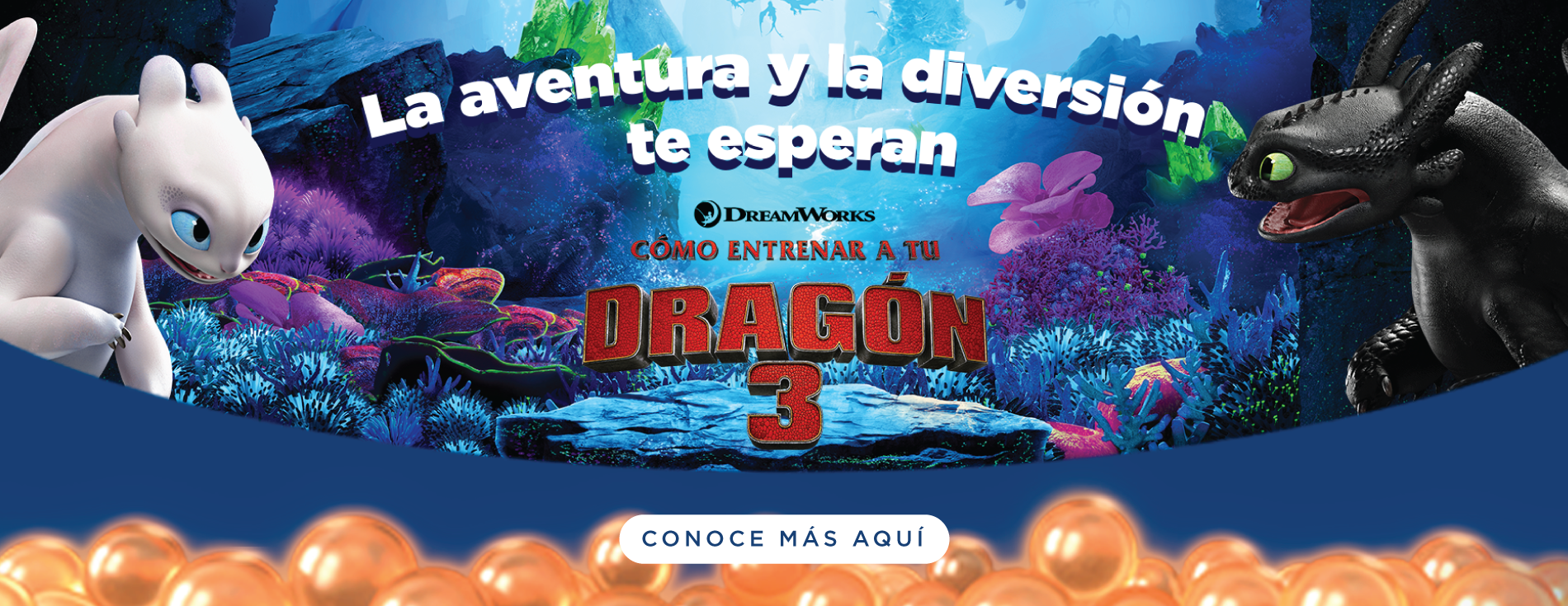 Cómo entrenar a tu dragón 3 - Villavicencio