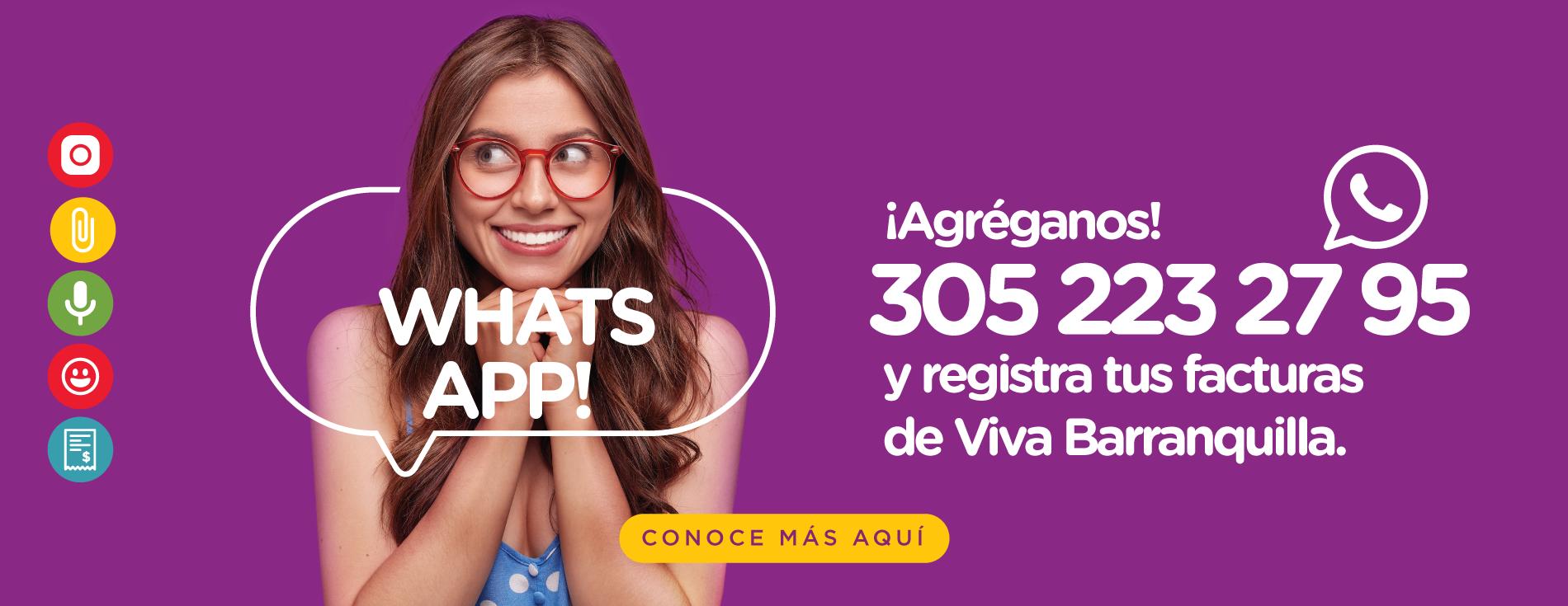 Whatsapp - Barranquilla