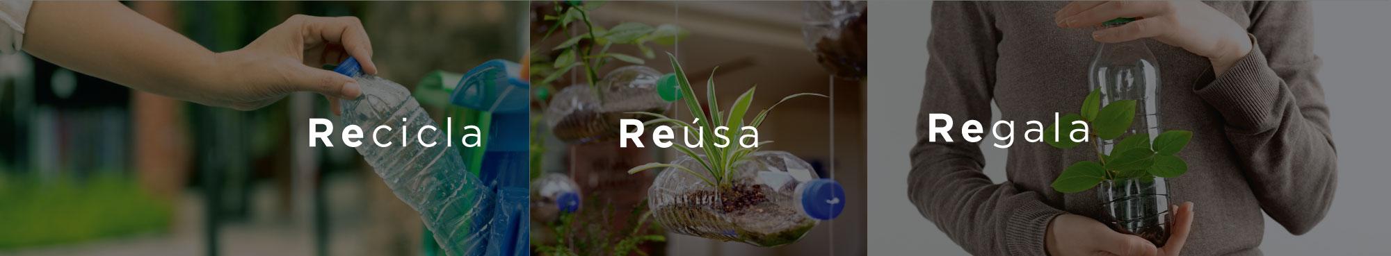 Recicla - Reúsa - Regala