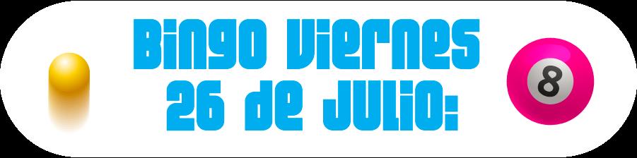 26 de julio