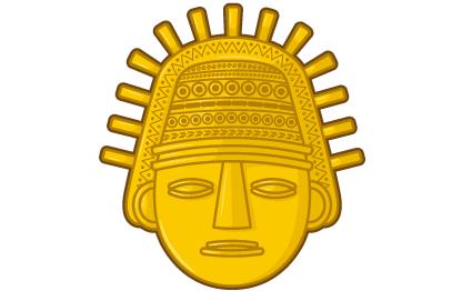 Figura de oro Inca