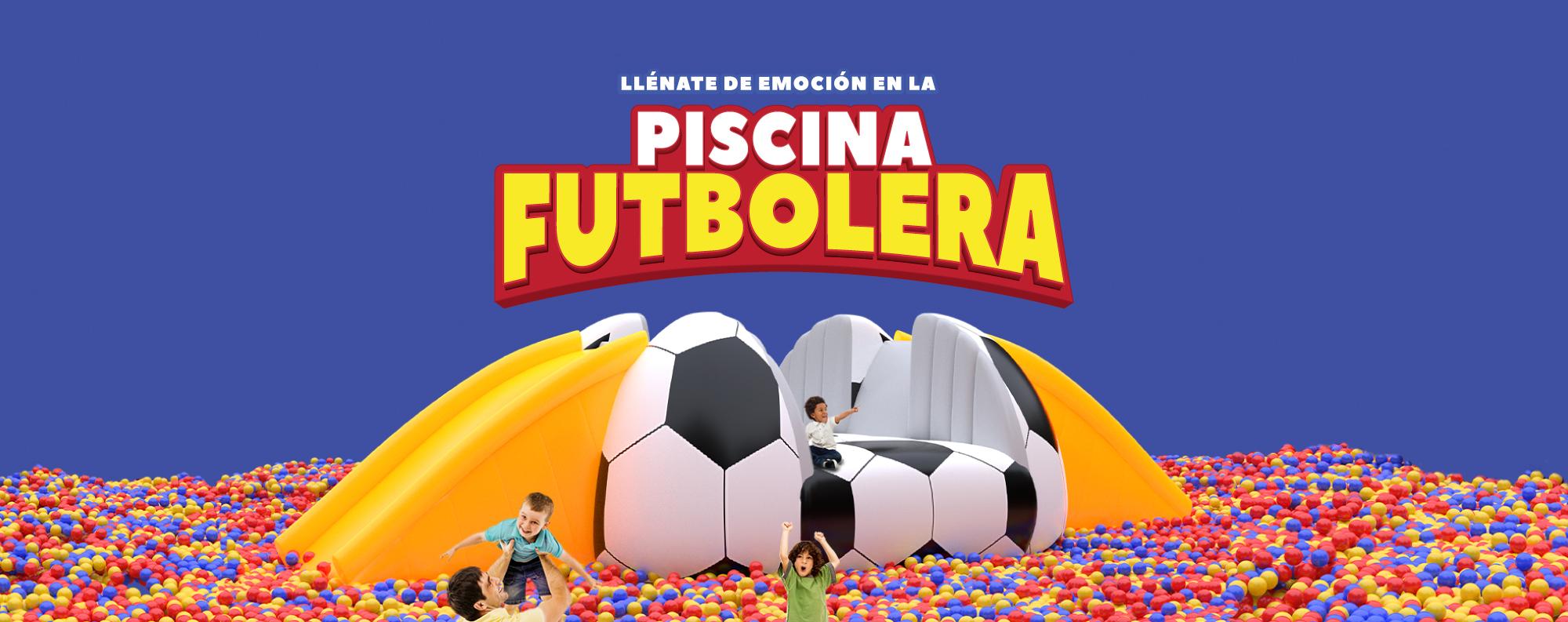 Piscina futbolera Viva Tunja
