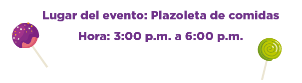 Lugar y fecha del evento