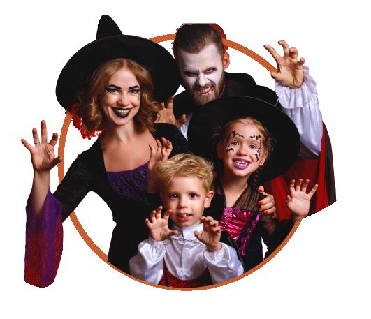 Familia Halloween