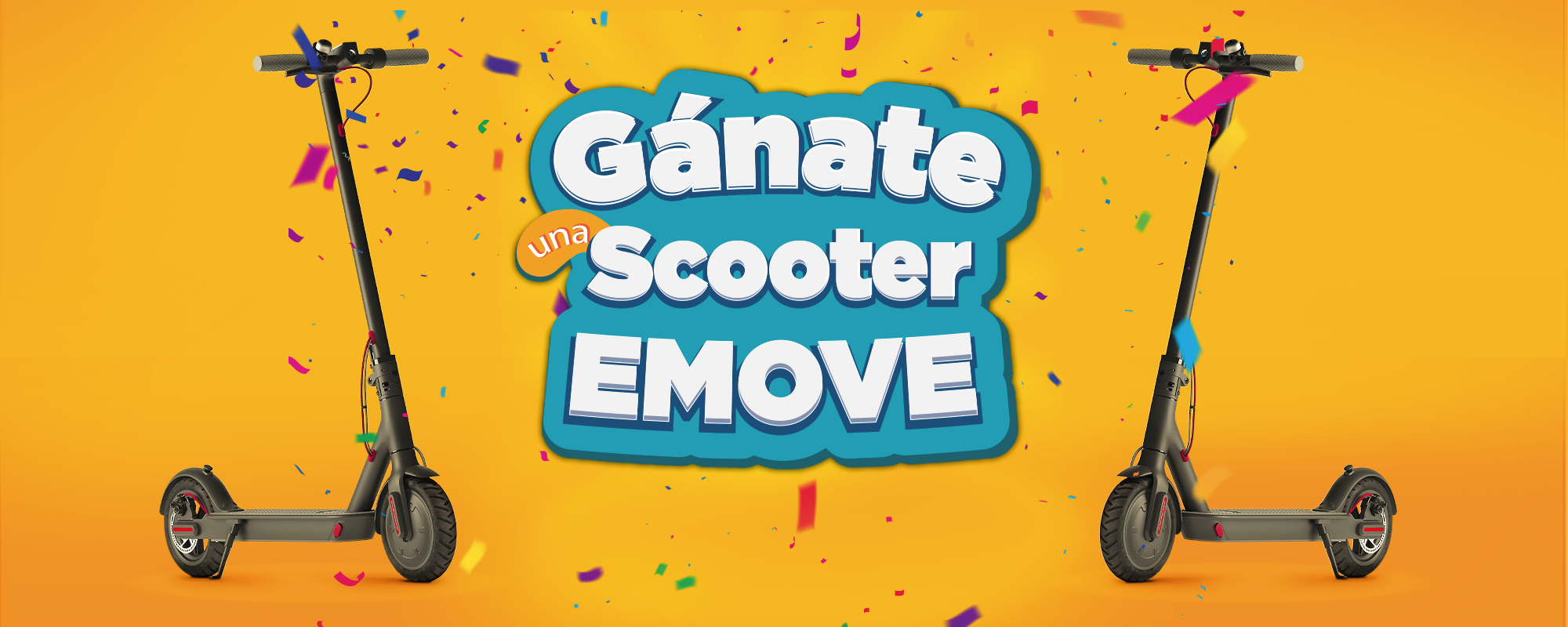 Gánate una scooter emove