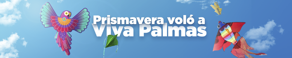Prismavera voló a Viva Palmas