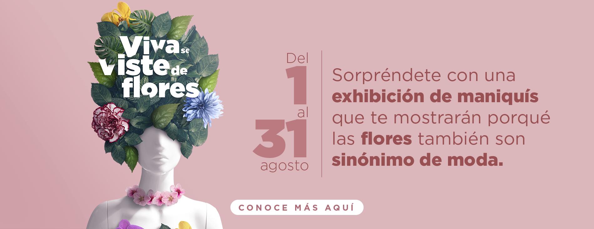 Viva se viste de flores - Laureles