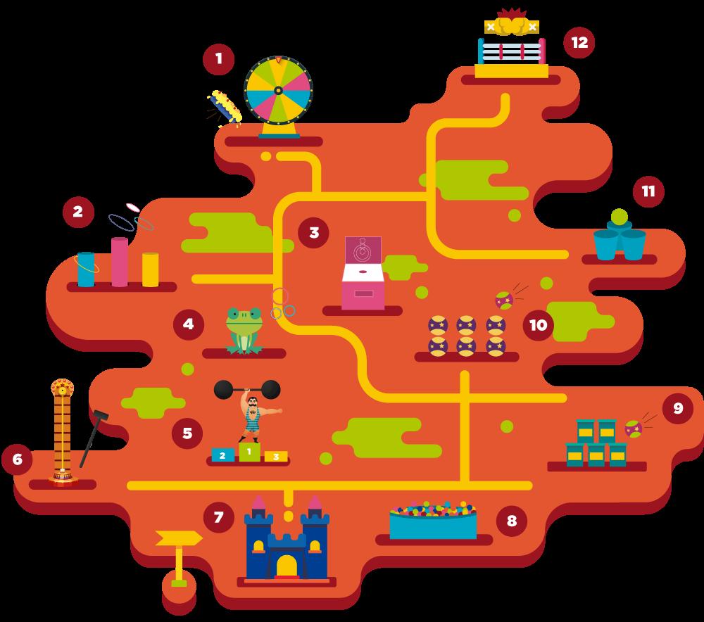 Mapa feria Villavicencio