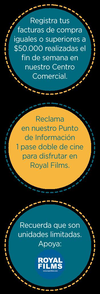 Mecánica findes de película en Viva Sincelejo