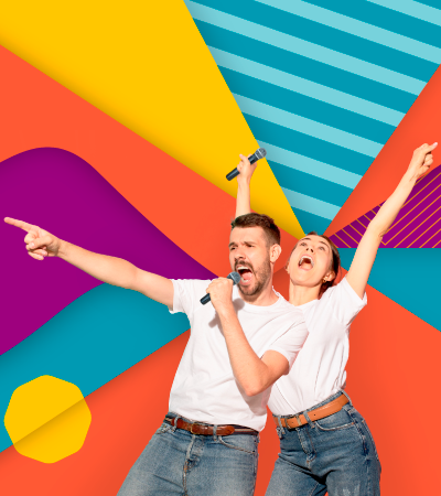 Karaoke en parejas - Caucasia