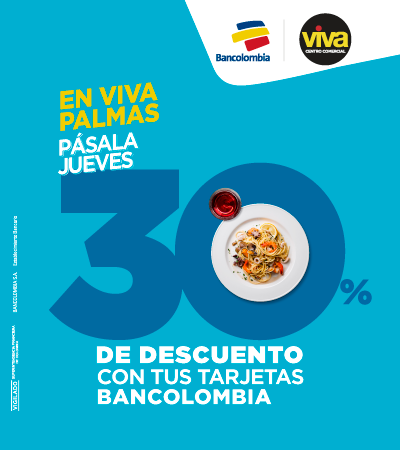 Pásala jueves Bancolombia - Palmas