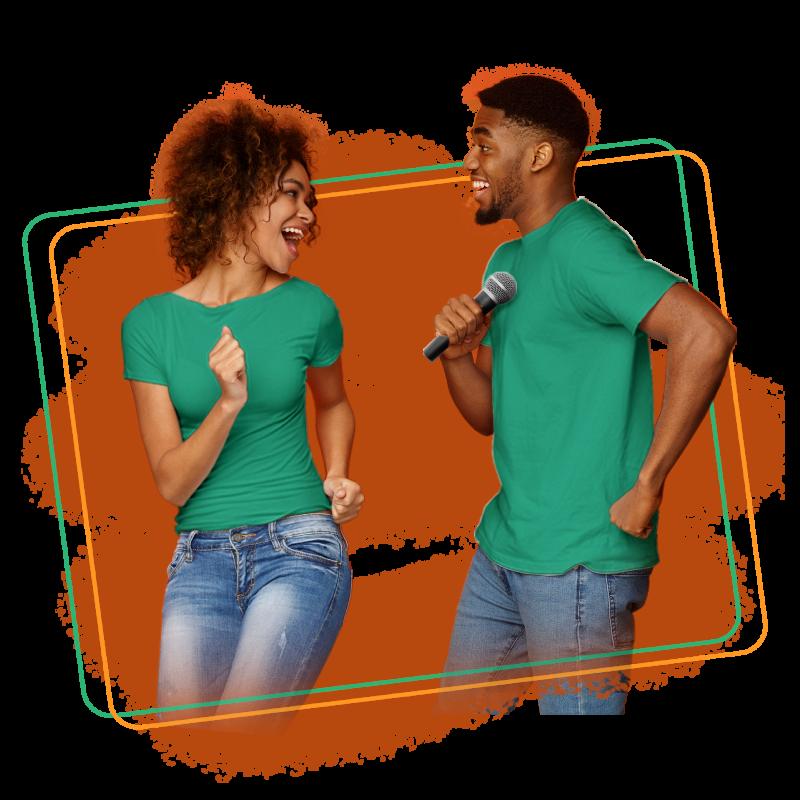 Pareja Cantado Karaoke - Buenaventura