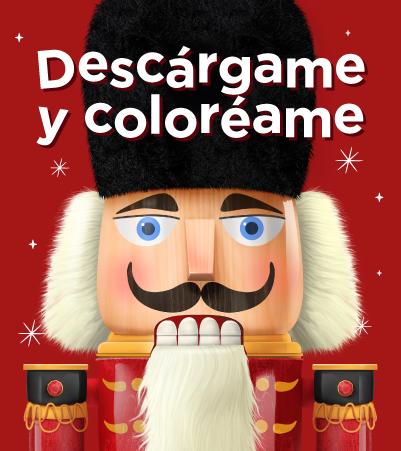 Cascanueces para colorear - Buenaventura