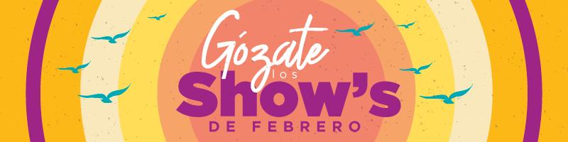 Gozate los Show de febrero - Villavicencio