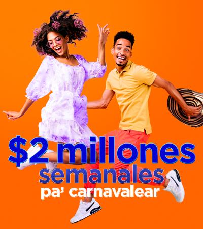 A carnavalear con $2´000.000 - Wajiira