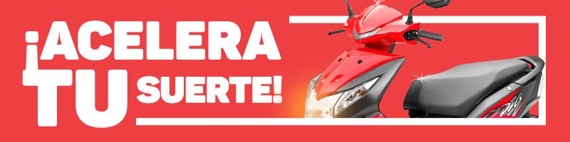 Sorteo de motocicleta - Wajiira