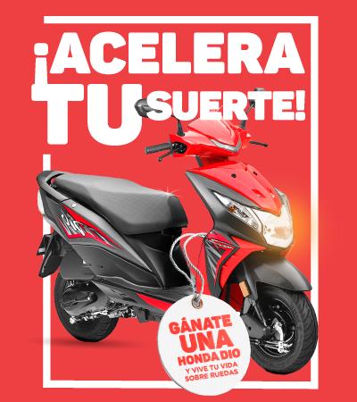 Sorteo de motocicleta